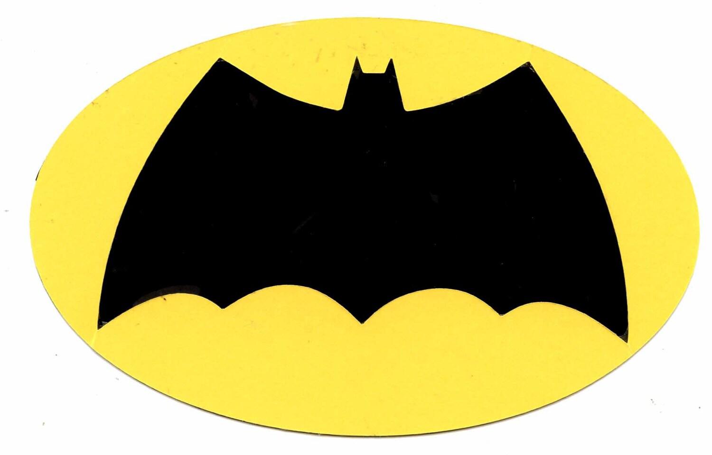 2008 batman brave and bold symbol logo scrapbook die cut buycottarizona