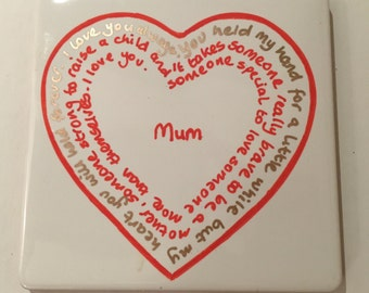 Coaster - Messages for Mum