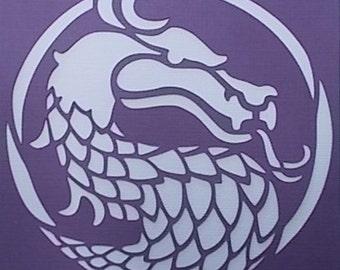 Dragon 02 Stencil