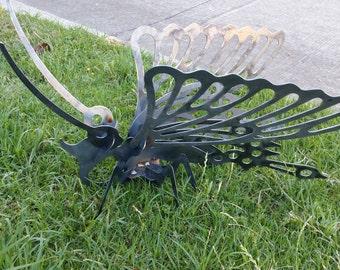 3-D Metal butterfly