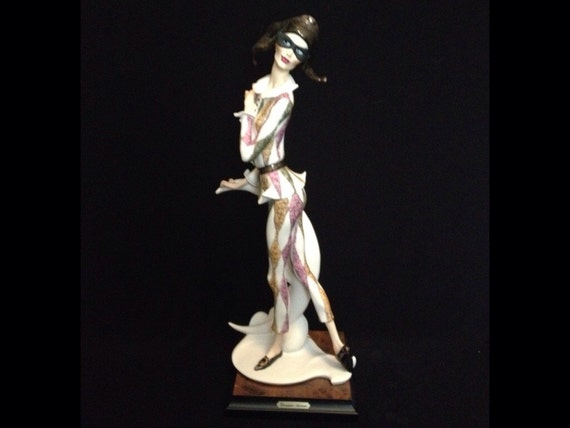 FREE SHIPPING-Fabulous-Made In Italy-Giuseppe Armani-740-C-Harlequin-Limited Edition-5065/7500-Sculpture