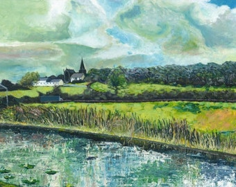 The Erewash Canal. (Mounted prints) Multiple sizes.