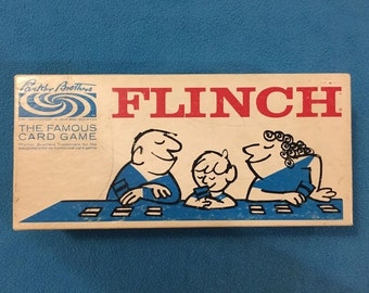 Flinch Parker Brothers card game 1963 version COMPLETE great condition