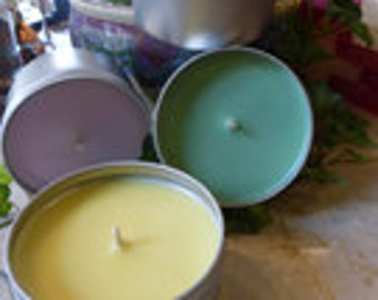 Soy Wax Container Candle Making Kit - 12-6oz Tins (Basic)