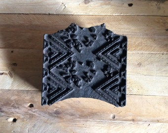 Victorian wooden printing blocks