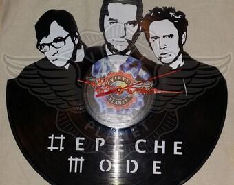 Vinyl wall clock DEPECHE MODE