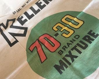 Kellers 50lb feed bag