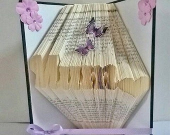 MUM folded book art