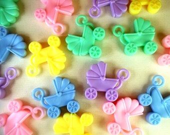 Baby Carriage Favors - New Baby, Baby Shower