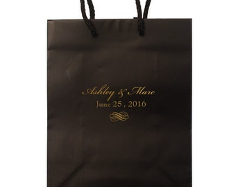 Personalized Hotel Wedding Welcome Bags - Set of 35