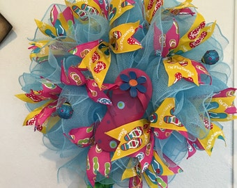 Summer Fun Flip flop wreath
