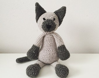 Crocheted Animal - Cat