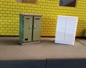 1/24 & 1/25 Diorama Scale Miniature Electrical Box