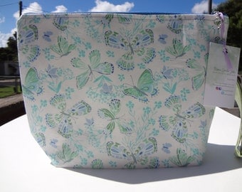 Knitting Project Bag, Zippered Project Bag, Sock Project Bag, Crochet Project Bag