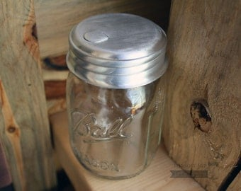 Sugar Dispensing Lid for Regular Mouth Mason Jars | Sugar Dispenser | Mason Jar Accessories | Mason Jar Lids