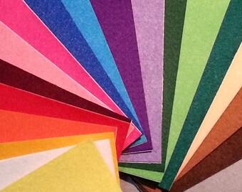Pack Fieltro Adhesivo Maxi - 20 colores (20x25 cm.)