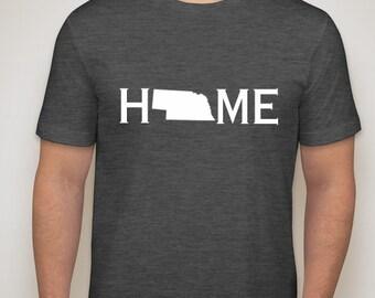 Nebraska home t-shirt,. Nebraska home shirt, Nebraska t-shirt, Nebraska shirt
