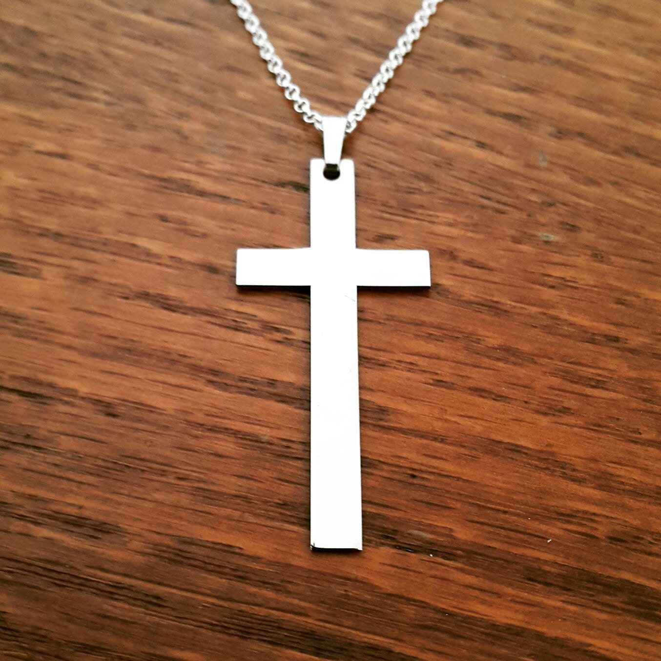 mens cross necklace for men silver cross necklace mens. Black Bedroom Furniture Sets. Home Design Ideas