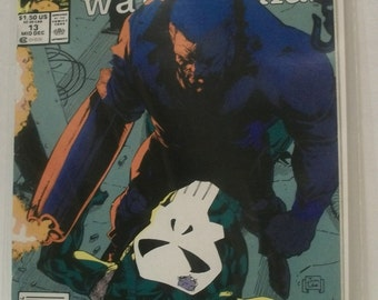1989 The Punisher War Journal #13  The Bushwacker Good-VG Condition  Vintage Marvel Comic Book