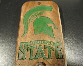 Michigan State Bottle Opener