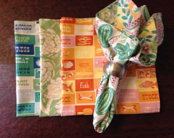 Fabric Napkins (set of 4)