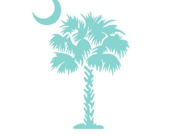 Palmetto Tree Decal
