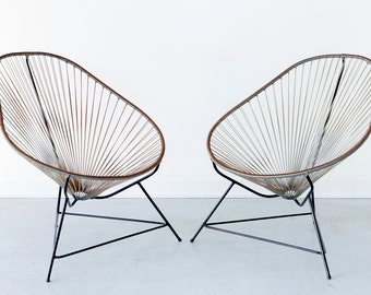Set of Acapulco Indoor Outdoor Lounge Chairs