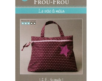 FCFF15 Handbag - FROU FROU - creative card - tutorial