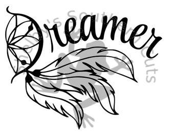 Dreamer Dream Catcher SVG file