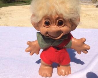 1960's DAM Troll Doll Boy 6 inches