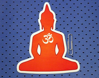 Buddha Meditation Bumper Sticker
