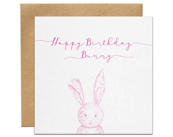 Bunny Greeting Card | Made In Australia