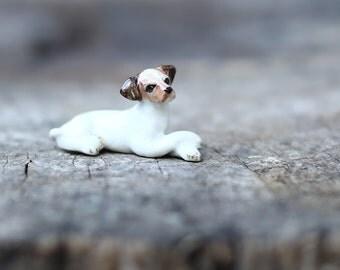 Cute Dog little Animal Ceramic.