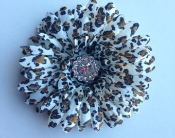 Large Leopard Daisy with Crystal Bling