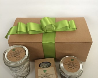 Fathers Day Spa Gift Set- Bath & Body Gift set, Teacher gift, Thank you gift, Wedding Spa Gift Box- Mens Gift set- gift for him