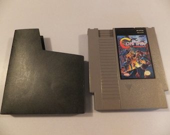Contra Force Original NES Nintendo Vintage Video Game Cartridge