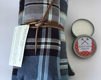 The Manly Man's Gift Set-Aromatherapy bags-hand salve-gift-Man-Men-Father-Dad-present