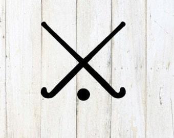 Field Hockey Decal
