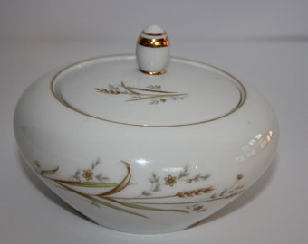 Golden Harvest Fine China Sugar Bowl