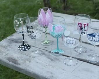Customized Wine Glass