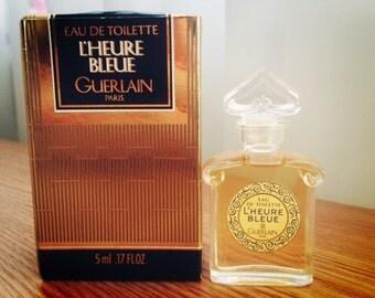 Guerlain L'Heure Bleue EDT 5ml miniature , vintage rare