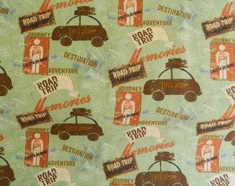 ON SALE  Road Trip By Clothworks Fabrics