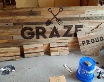 Rustic Wood Signage