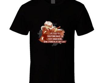 Inuyasha t-shirt. Inuyasha tshirt for him or her. Inuyasha tee as a Inuyasha gift idea. A great Inuyasha gift with this Inuyasha t shirt