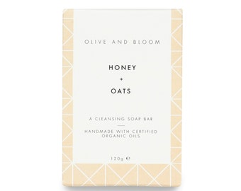 Honey + Oats Soap