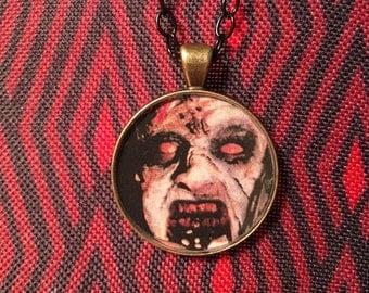 Evil Dead Deadites Possessed Pendant Necklace Horror