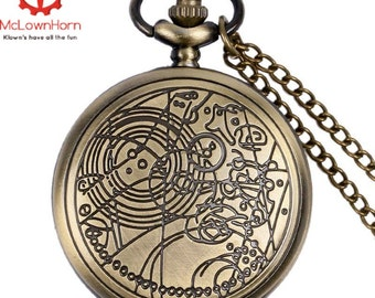 The Doctors Watch, Dr Who Pocket Watch ,The 10th Doctors Watch , Gallifreyan , Dr Who Pocket Watch  , <<ON SALE!!>> , Christmas  ,Time Lord,