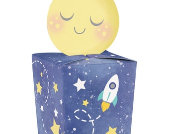 I Love You to the Moon and Back, Favor Boxes, Twinkle Twinkle Little Star, Starry Night, Party Favors, Gift Box, Favor Box, Shower Favor