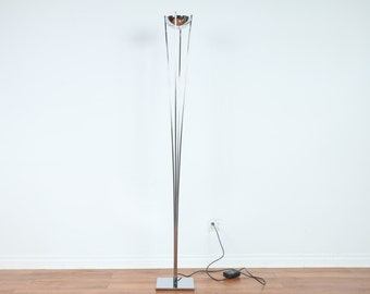 Mid Century Chrome Floor Lamp