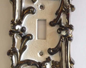 Glam Vintage Switch Plate